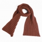 Preview: Knitted Scarf, brown
