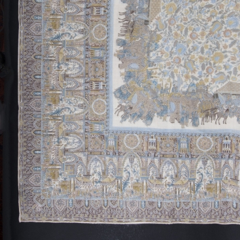 Cloth Persian Wedding, Wool and Silk, 140 x 140 cm