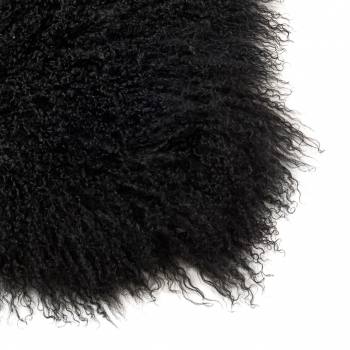 Shaggy Blanket, black