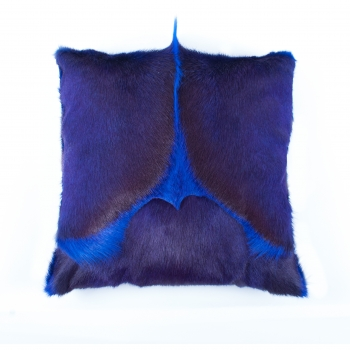 springbok cushion, violet