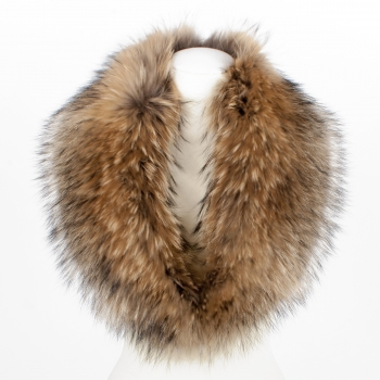 Finn Raccoon Fur Collar - a Temptation