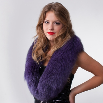 Fox Fur Collar – Somewhere between classic and funky