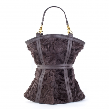 "Luxury Bag with Waistline – Fur Bag ""Elancée"""