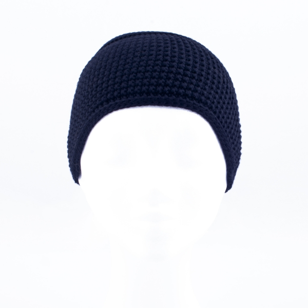 Woollen Headband, black