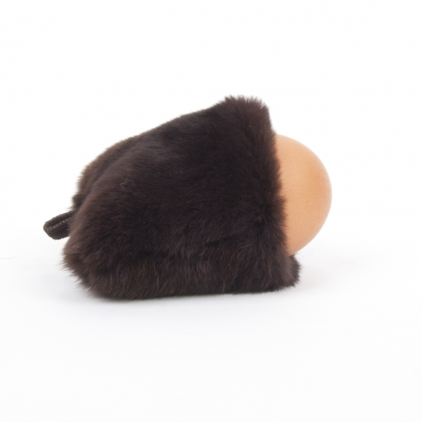 Egg Cosies Made of Fur – Breakfast Table Décor