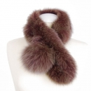 Fox Fur Collar, redbrown