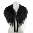Fashionable Goat Fur Collar